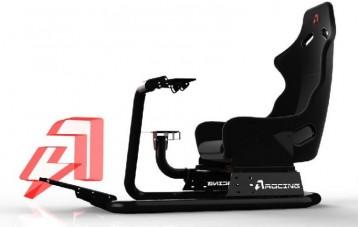 AZRACING 模拟赛车方向盘座椅