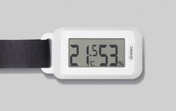 多利科 Dretec 多功能室外温湿度计