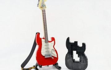 LEGO 乐高 IDEAS 系列 Fender 吉他拼装积木