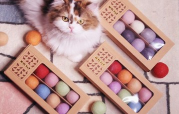 Misspet 猫咪毛毡玩具球