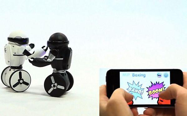 美国wowwee哇威app蓝牙遥控mip智能机器人玩具